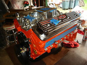 Chevy 383 425hp Stroker Motor With Gm Vortec Heads Over 400 This Model Sold