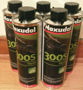 Lot Of 5 Noxudol 300s Corrosion Resistance Undercoating Compound 1 Liter Cans