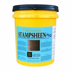 Concrete Sealer Stampsheen H2o Med gloss Water based Acrylic 5 Gal Walttools