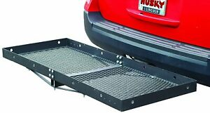 81148 Husky Towing 2 Receiver 60 Lx23 5 W Trailer Hitch Cargo Carrier 500lb Cap
