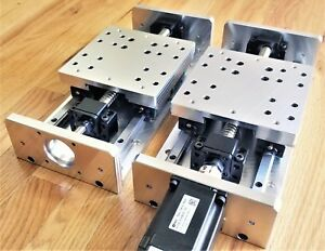 Diy Cnc X Y Z Axis Linear Stage Slide Kit 6 5 Travel For Mill Router Us Made