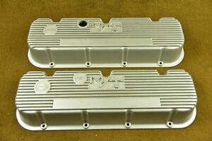Mickey Thompson M t Valve Covers Big Block Chevy Chevrolet 427 396 454 Original