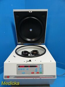 Beckman Coulter Spinchron Dlx Centrifuge W Rotor Buckets Tube Inserts 16792