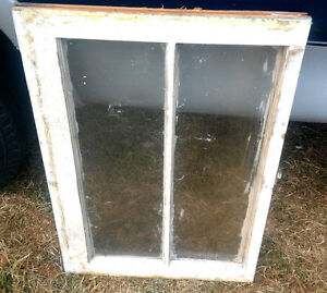Old Vintage 2 Pane Window Frame Sash Antique Pinterest 28x20