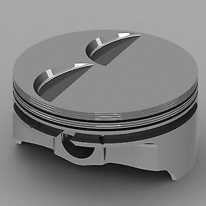 Chevrolet Fits 402 V8 Icon Forged Piston Set Flat Top V2