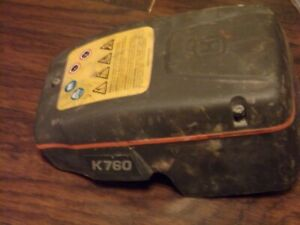 Husqvarna K 760 Concrete Air Filter mount And Cover Oem 85