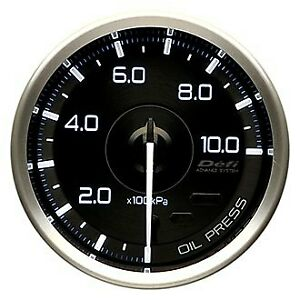 Defi Df15001 Advance A1 60mm Electrical Oil Pressure Gauge 1000kpa