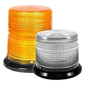 Soundoff Signal Elb45bmh aa 4500 Series Magnetic Mount Amber Led Beacon Light