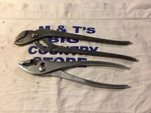 Vintage Proto Tools Usa Channel Lock Slip Joint Pliers Slip Joint Pliers