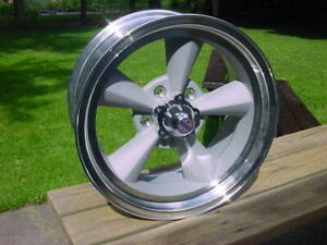 1 17x 8 Vn309 American Racing Torq Thrust Wheel Tto 5 On 4 5 Ford Mopar Lugs