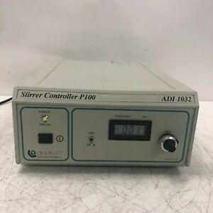 Applikon Stirrer Controller P100 Adi1032 Tested And Working Light Wear