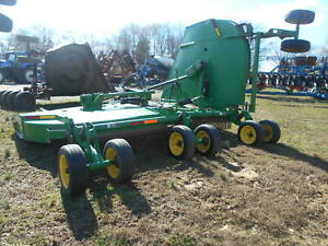 John Deere Cx20 Flex Wing Mower Dual Wheels With Suspension 1000 Pto