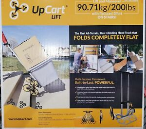 Upcart Lift All terrain Stair Climbing Folding Hand Truck Up To 200 Lbs New