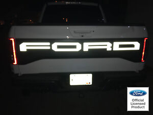 2019 Ford Raptor Svt F150 Reflective Tailgate Letters Vinyl Stickers Decal Rear