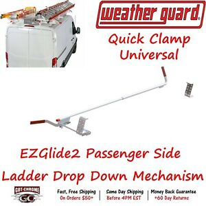 2254p 3 01 Weatherguard Ez Glide2 Passenger Side Ladder Rack Drop Down Mechanism