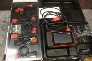 Snap On Solus Ultra Eesc318 Diagnostic Machine 16 4 W Eesp328euc Kit
