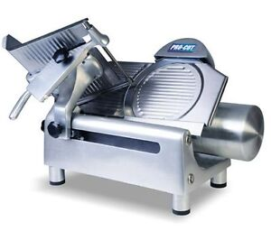 New Heavy Duty 12 Commercial Gear Driven Meat And Cheese Slicer