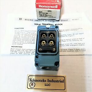 Honeywell Micro Switch 18pa1 Terminal Block