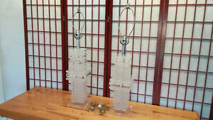 Lucite Mid Century Table Lamps