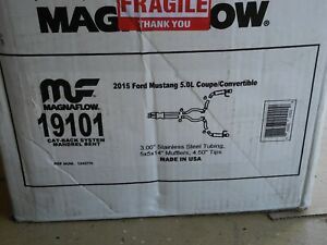Magnaflow Competition Catback 15 17 Ford Mustang Gt S550 New 19101