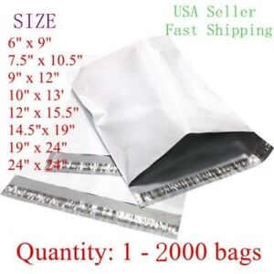 Poly Mailers Plastic Envelopes Shipping Bags Free Shipping All Sizes 24x24 19x24