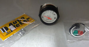 Sale Autometer Phantom Electric Volt Voltmeter Gauge 2 1 16 In 8 18 Volt 52mm
