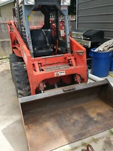 Thomas 133 Skidsteer Clicking Has Been Repaired