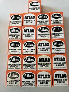 Vintage Atlas Machine Shop Valve Seat Grinding Wheels Lot 23 New For Kwik way