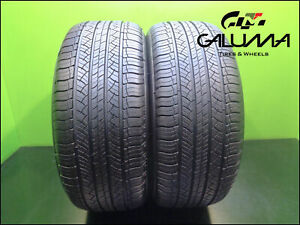 2 Two Tires Hightread Michelin 255 50 19 Latitude Tourhp 107h Runflat Bmw 48402