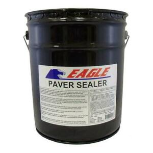 5 Gal Clear Wet Look Solvent Based Acrylic Concrete Paver Sealer 500 Sq Ft