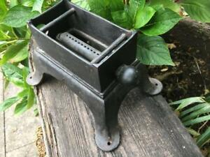 Antique Cast Iron Camping Gas Stove Vintage Gas Single Camping Stove