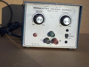 Heathkit Ip 2728 Regulated Power Supply 1 15v 500 Ma