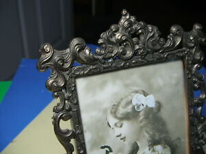 Vintage Italy Brass Glass Frame Made In Italy Frame 6 1 2 X 4 1 2