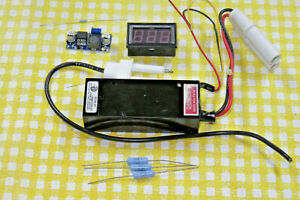 Hene Laser Power Supply Kit For 0 5 2 Mw Tubes W Brick Stepdown Converter Dpm