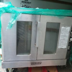 Hobart Dgc5 6s Natural Gas Double Stack Full Size Convection Oven