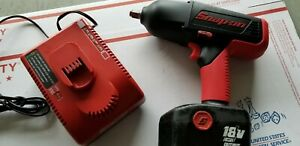 Snap on 18v Cordless Impact Ct6850 W battery And Charger