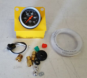 Sale Autometer Sport Comp 2 1 16 Mechanical 52mm Oil Pressure Gauge 0 100 Psi