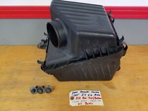 02 05 Sonata Cold Airbox Air Box Filter Air Cleaner 2 7l Engine Motor Car V6
