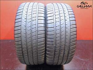 2 Two Tires Excellent Michelin 245 45 19 Pilot Sport A s3 98y Bmw Nopatch 49280