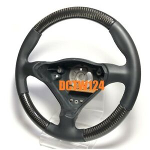 Porsche 996 986 Oe Steering Wheel Carbon Conversion Turbo C4s Inventory Blk