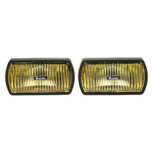 Truck Lite 7 125 X3 625 Rectangular Yellow Euro Fog Lights