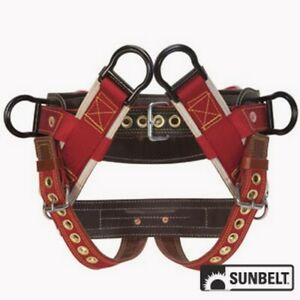 Saddle Weaver 4 dee Extra Wide Back 2 Nylon Straps Large B1ab0801033l