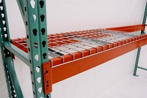 Pallet Racking metal Storage Industrial Shelving 8 Foot Beams For Sale
