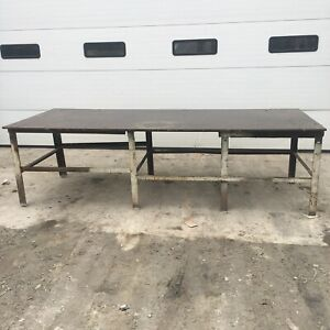 Steel Work Bench Welding Fabrication Layout Table 120 x48