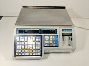 Cas Lp 1000 Price Computing Scale Thermal Label Printing Works