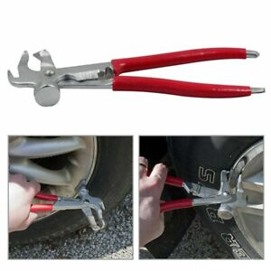 Car Tyre Wheel Weight Plier Hammer For Tire Balancer Changer Remove Clamp Tool