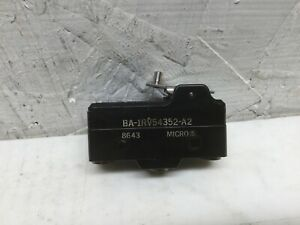 Micro Switch Ba 1rv54352 a2 Snap Action Limit Switch 15a 125 250 Or 480 Vac