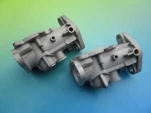 Pair Of Su H4 Carburetor Bodies Auc 6020 Mga 1500 1600 And Austin Healey 100 4