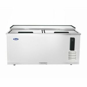 New 65in Deep Well Horizontal Bottle Cooler Stainless Free Shipping