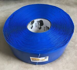 Mighty Line Floor Marking Tape Roll Blue Solid Pvc 100 Feet 4 Inches Wide New